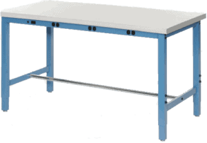 pdr work bench blue   paintless dent removal training   real world pdr